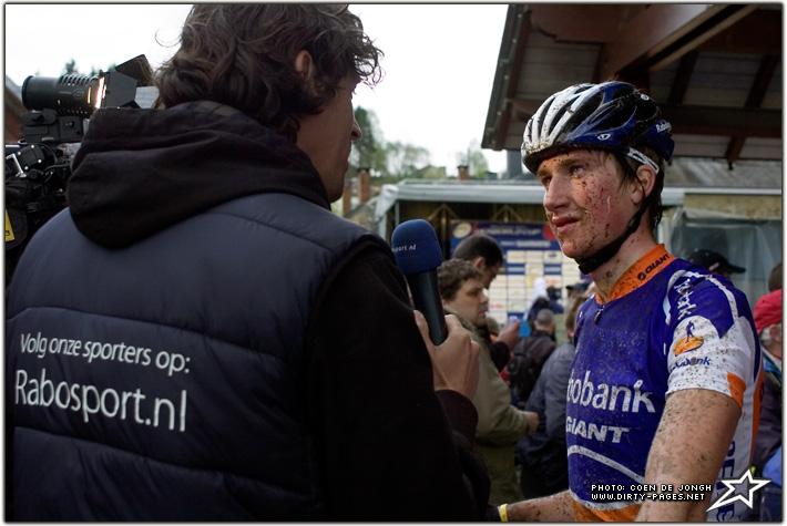 Henk jaap moorlag finishte als 3e u23 het rabo marketing team pikt